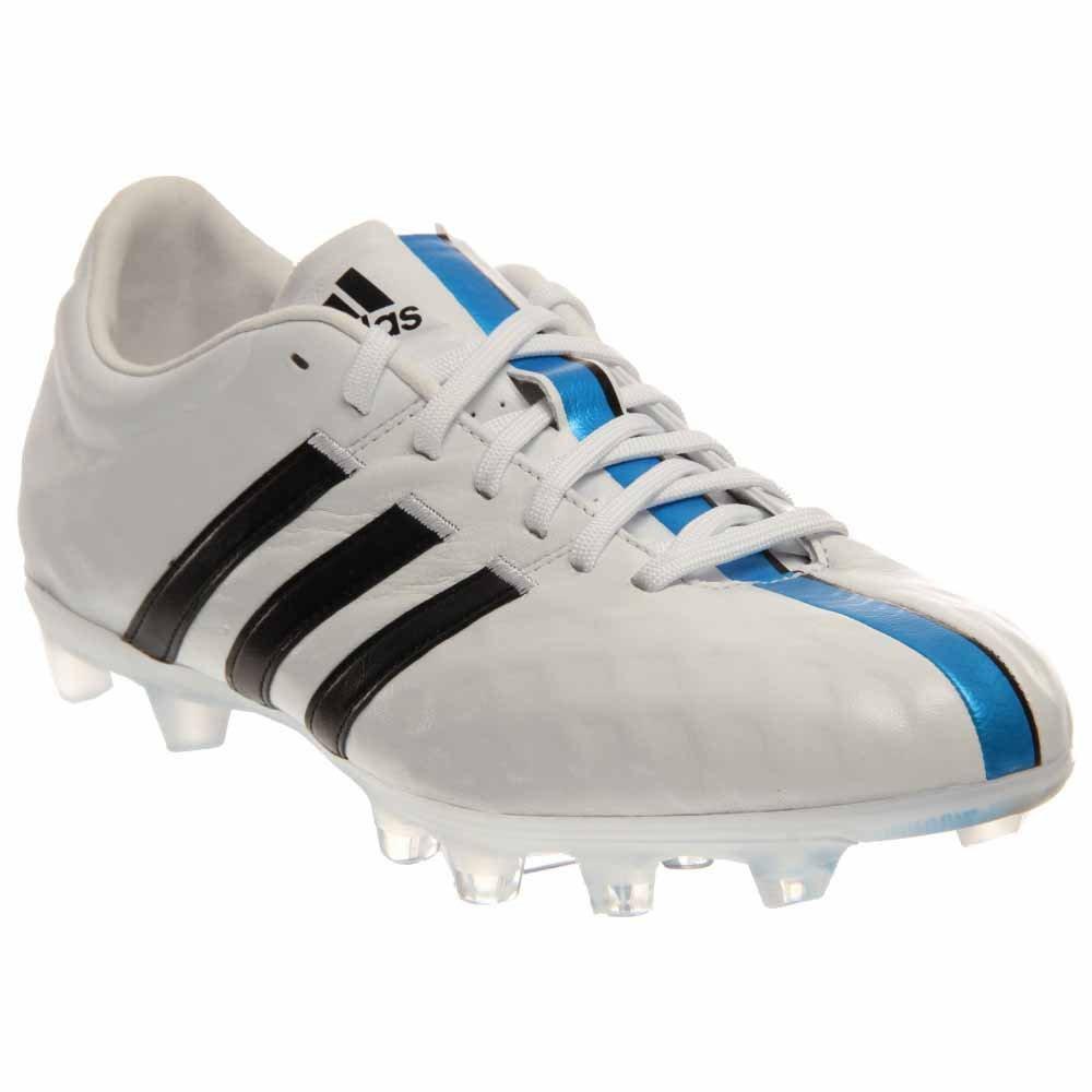 premium selection f25ec 6e64e Adidas Men s adiPure 11Pro TRX FG - (White Black Solar blue) (9)   Amazon.ca  Shoes   Handbags