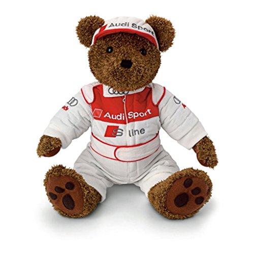 Genuine Audi Motorsport Stuffed Animal Teddy Bear