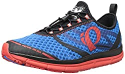 Pearl Izumi Men's EM Tri N 2 Shoe, Brilliant Blue/Fiery Red,7.5 D US