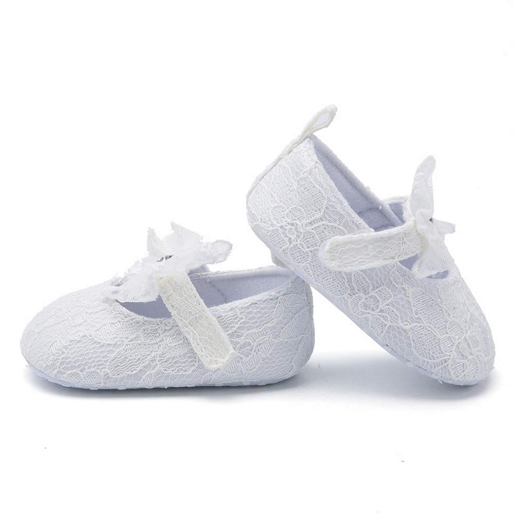 MISOWN Newborn Baby Girl Soft Princess Jelly Lightweight Crib Prewalker Toddler Shoes