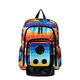 Bluetooth Speaker Backpack with 15-Watt Speakers & Subwoofer for Parties/Festivals/Beach/School. Rechargeable