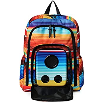 4346b5472d Bluetooth Speaker Backpack with 15-Watt Speakers   Subwoofer for Parties Festivals Beach School.  Rechargeable