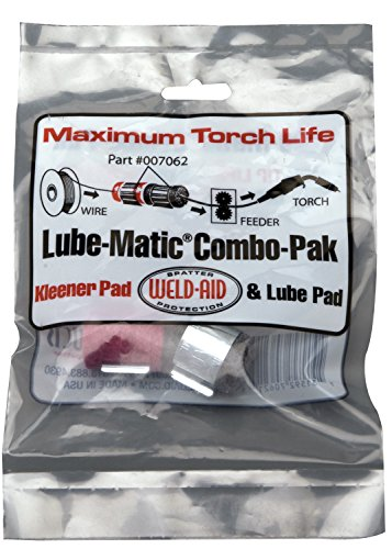weld-aid-007062-lube-matic-combo-paks-one-red-wire-pad-one-black-lube-pad