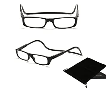 cf9f620b9092 Image Unavailable. Image not available for. Colour  TOPSTARONLINE Multi-Color  Adjustable Magnetic Reading Glasses from +1.00 to +4.00 Diopters (