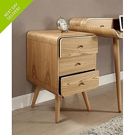London curve mobili in rovere 3 cassetti PC705: Amazon.it: Casa e cucina