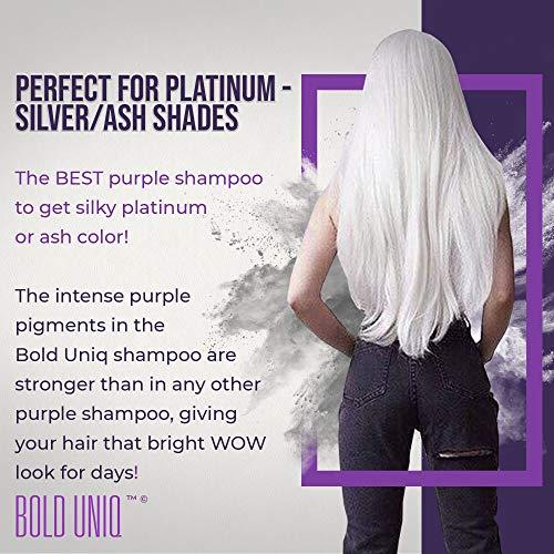 Shampoo Antigiallo Per Capelli Biond - Tonalizzante Capelli 5
