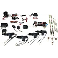 AutoLoc Power Accessories AUTCA4000 4 Door Power Lock Kit with Alarm 1934 mac diamond t sbc late model cal customs b