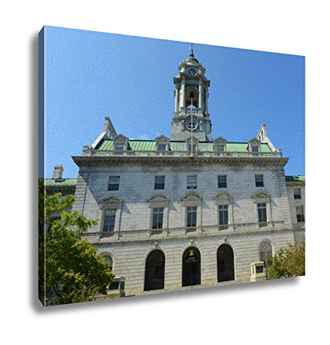 Ashley Canvas, Portland City Hall Maine Usa, (Portland City Hall)