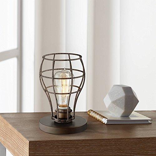 - Oldham Industrial Modern Uplight Desk Table Lamp 9 1/2