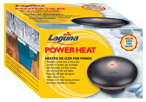 Laguna PowerHeat Heated De-Icer for Ponds - - Heaters Pond Koi