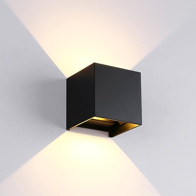 De Faisceau Lumière Blanche Facile Ip65 Cusfull Étanche 12w Moderne Réglable 3000k Murale Del Organique Lampe Angle Led À Applique Chaude qzMSUpGV