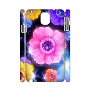 Petals Customized 3D Cover Case for Samsung Galaxy Note 3 N9000,custom phone case ygtg516584