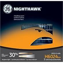 GE H6024NH Nighthawk Automotive Headlight Bulb, Pack of 1