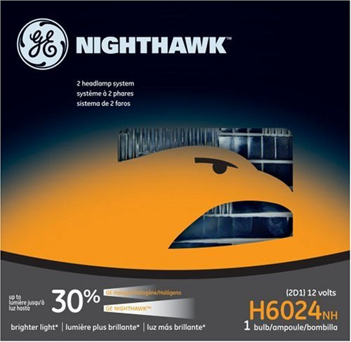 GE Lighting H6024NH Nighthawk Automotive Headlight Bulb 3500 Truck Chevy Truck