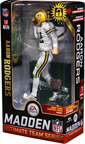 McFarlane Aaron Rodgers (Green Bay Packers) EA Sports Madden NFL 19 Ultimate Team Series 1 by McFarlane