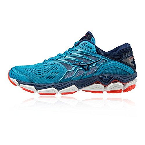 Femme Hocean Multicolore Mizuno Horizon Wave Eblue Fcoral Sneakers 001 Basses 2 w6pXqxa