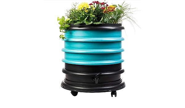 WormBox Vermicompostador 3 bandejas Azul 56 litros Jardinera