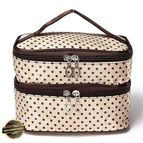 Gatton Cosmetic Beauty Makeup Bag Case Organizer Zipper Holder Handbag Travel WashPouch | Style TRVIHR-11291966