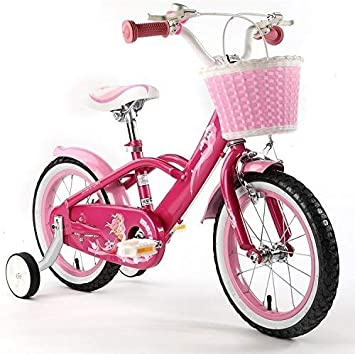 Royalbaby Pink Mermaid Girl S Kids Children Bike In Size 12 14 16