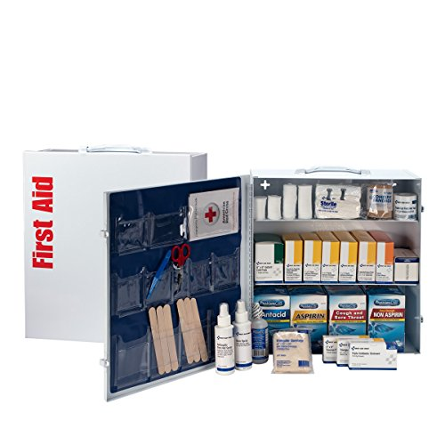 First Aid Only 3 Shelf Industrial First Aid Station with Pocket Liner