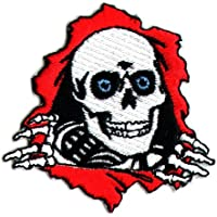Powell Peralta Ripper Skateboard Patch - Iron / Sew On - 6.5 x 6.5cm by Powell