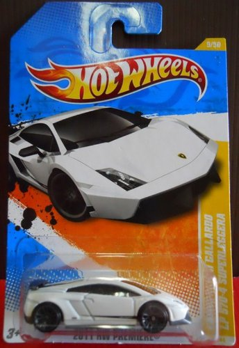 Galleon 2010 Hot Wheels Short Card Hw Premiere Lamborghini
