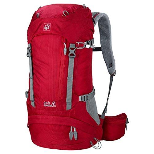 6d4d0e32343 Amazon.com : Jack Wolfskin ACS Hike Pack Rucksack, Black, 26 L : Sports &  Outdoors