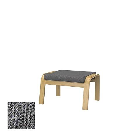 Soferia - IKEA POÄNG Funda para reposapiés, Nordic Grey ...