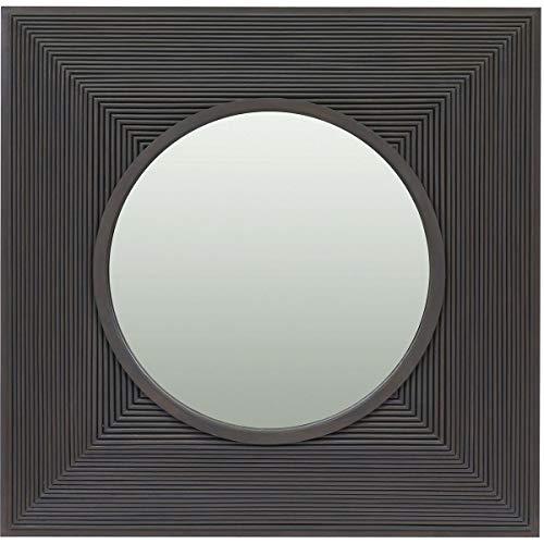 Square Porthole Mirror - Elk Porthole Mirror, Light Grey