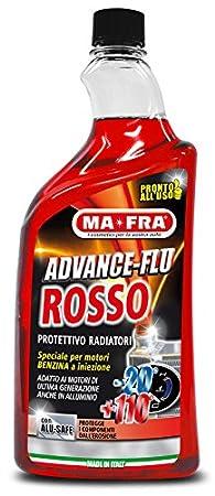Liquido antigelo per radiatore MA-FRA per motori BENZINA 1 lt ADVANCE FLU ROSSO HN026 MA FRA