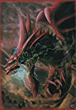 (100) Yu-Gi-Oh Small Size Slifer The Sky Dragon Card Sleeves 62x89 mm 100 pieces