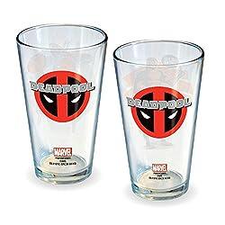 ICUP Marvel Deadpool Monologue Glasses (Set of 2)