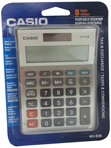 The 8 best casio calculator with tax