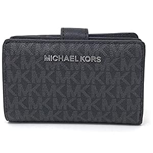 Michael Kors Jet Set Travel Saffiano Leather Bifold Zip Coin Wallet