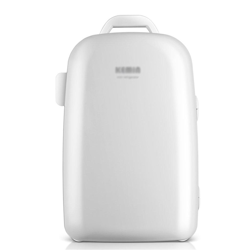 Mariny- 22L 12V DC 220V AC冷凍システム2冷暖房車の冷蔵庫ミニ冷蔵庫小型家電マイクロ冷蔵庫車の二重使用冷蔵庫寸法:34 * 34 * 51センチメートル内部サイズ:21 * 26 * 42センチメートル (色 : 白)  白 B07PLNKCD5