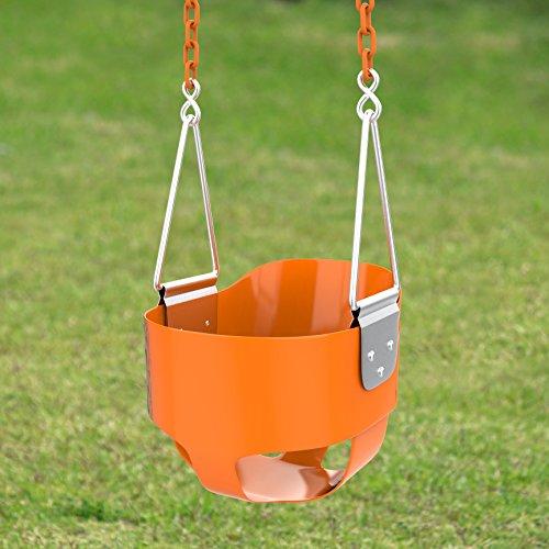 Toddler Swing Seat Bucket   Kids Tree Swing Set Accessories For Backyard  Outdoor  Baby Infant Swing Chair   Heavy Duty