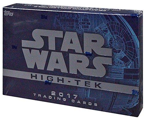 Star Wars High Tek 2017 Factory Sealed Trading Card Hobby Box