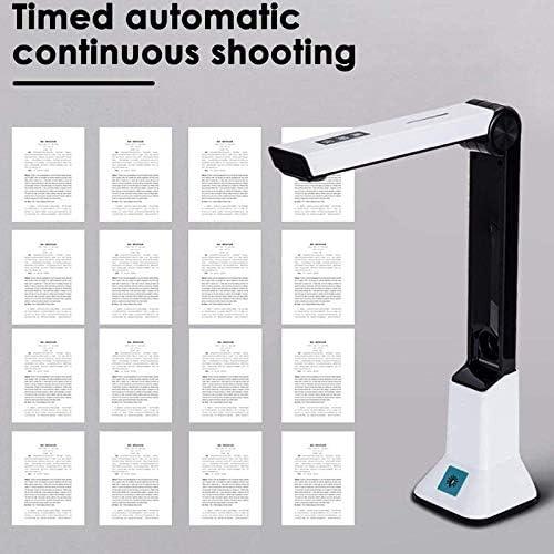 A4-Scanner Tamkyo Tragbarer High-Definition-Scanner Dokumentenkamera mit Echtzeit-Projektions-Videoaufzeichnungsfunktion