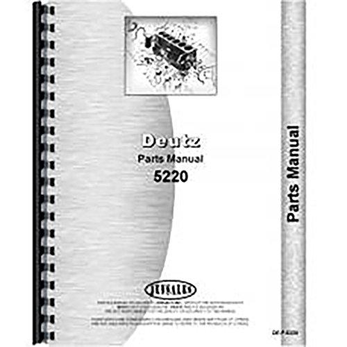 - New Deutz (Allis) 5220 Tractor Parts Manual