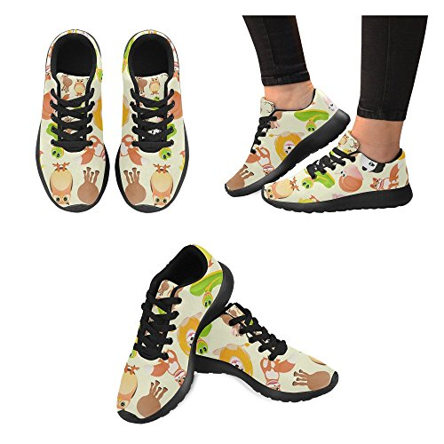 InterestPrint Womens Cross Trainer Running Shoes Jogging Lightweight Sports Walking Athletic Sneakers OfrA7G
