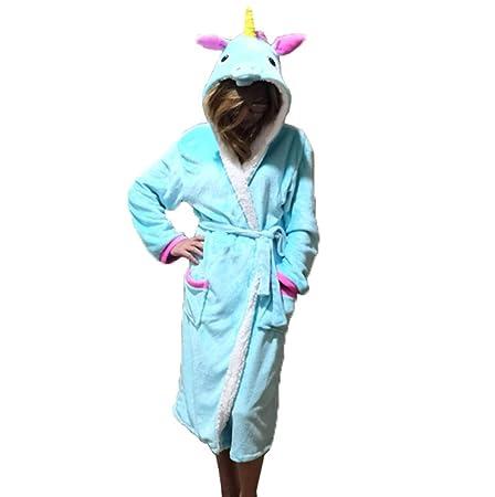 KKING - Mono para Mujer, diseño de Unicornio con Capucha, Unisex ...
