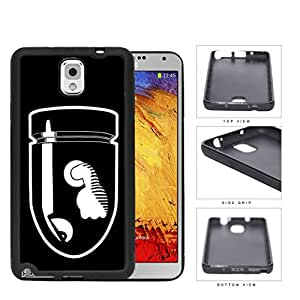 Angry Bullet With Fist Cartoon Rubber Silicone TPU Cell Phone Case Samsung Galaxy Note 3 III N9000 N9002 N9005