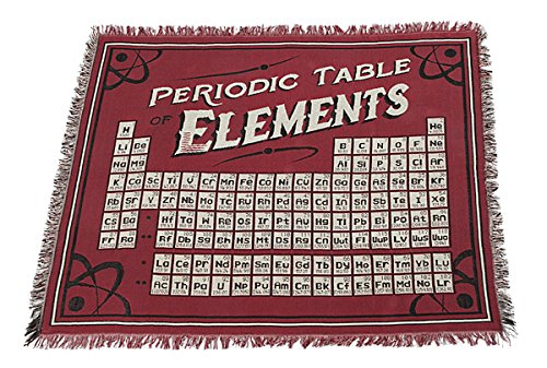 Exclusive periodic table of elements blanket amazon home kitchen urtaz Gallery