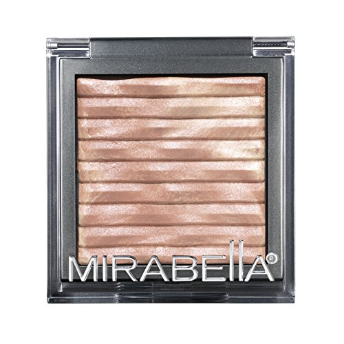 Mirabella Brilliant Mineral Highlighting Powder with Shimmer - Latte Swirl, 7.5g/0.26oz