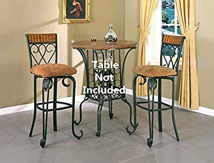 Fantastic Amazon Com Brand New Set Of 2 Alyssa Bar Stools High Chairs Gmtry Best Dining Table And Chair Ideas Images Gmtryco