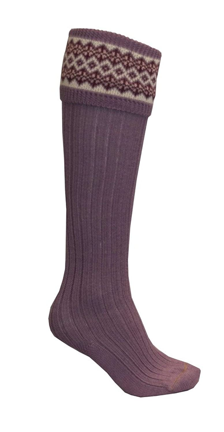 1920s Style Stockings & Socks Walker and Hawkes Womens Country Fairisle Socks $59.42 AT vintagedancer.com