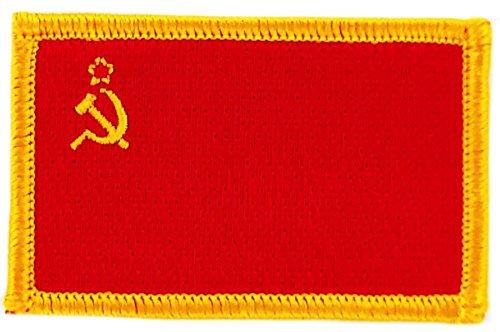 Toppa Ricamata Bandiera URSS CCCP Russia Unione Sovietique thermocollant Akacha