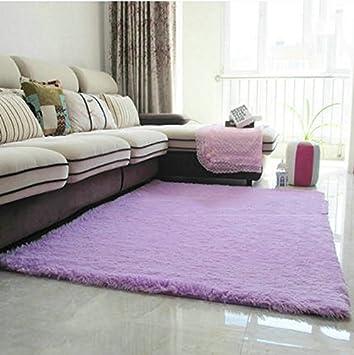 Moderna addensato tappeto Silky soggiorno camera da letto divano ...