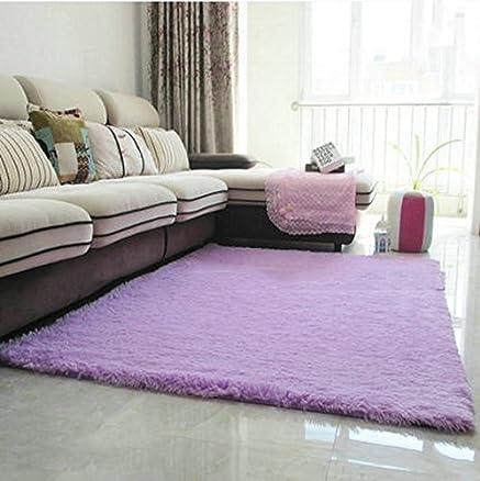 Latest moderna addensato tappeto silky soggiorno camera da for Tris tappeti camera da letto