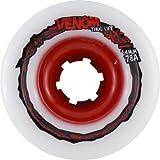 Venom Tweaker Thug Life White Skateboard Wheels - 64mm 78a (Set of 4)